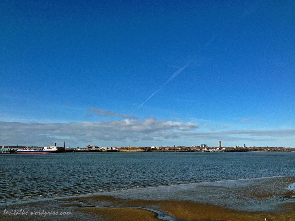 Overlooking the County of Birkenhead (Pier Head)