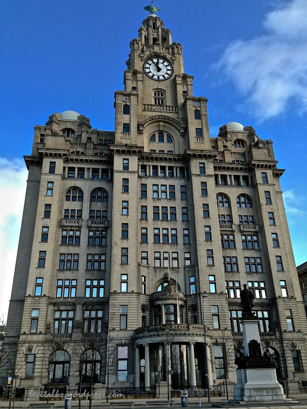 Royal Liver Building  (Copper birds on top)