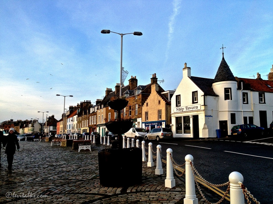 Sleepy town of Anstruther