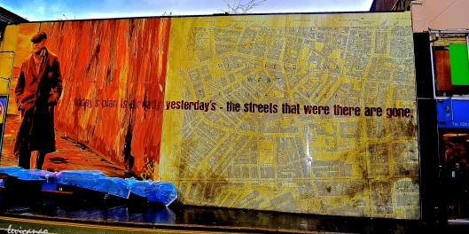 Today's plan is already yesterday's - the streets that were there are gone.