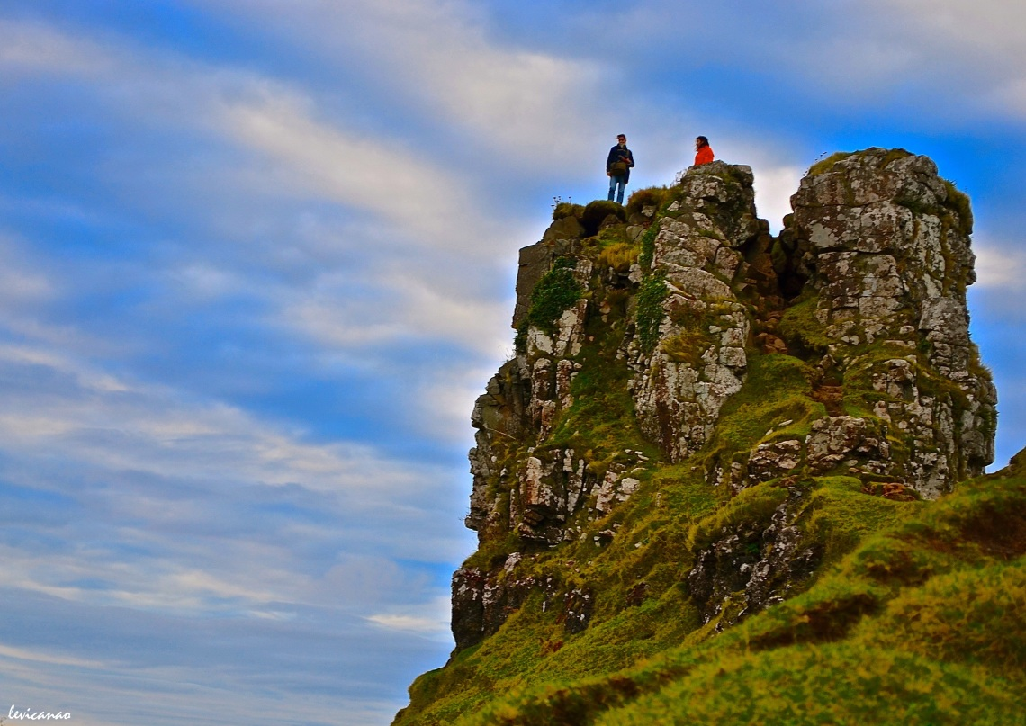 On top of the Fairy Glen