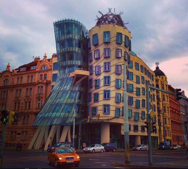 Prague Dancing House, Czech