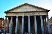 Rome Pantheon entrance