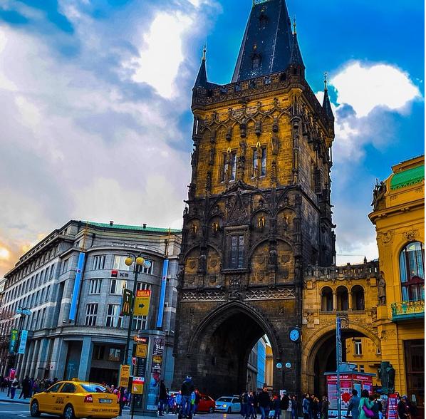 Old Gate, Prague