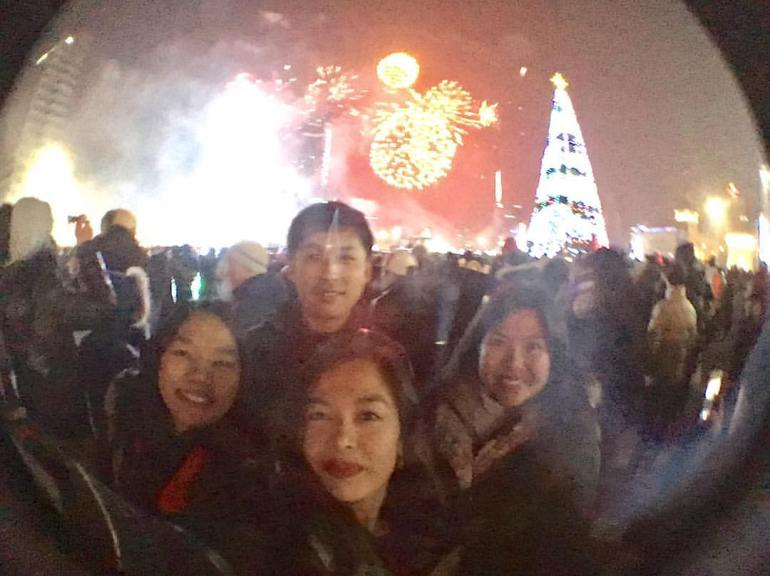 New Year 2016 in Ulaan Baatar, Mongolia