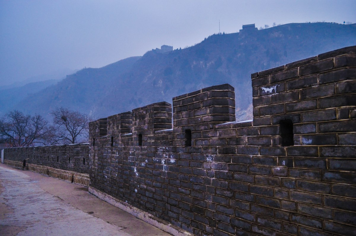 Rock solid walls that stretches beyond what the eyes can see